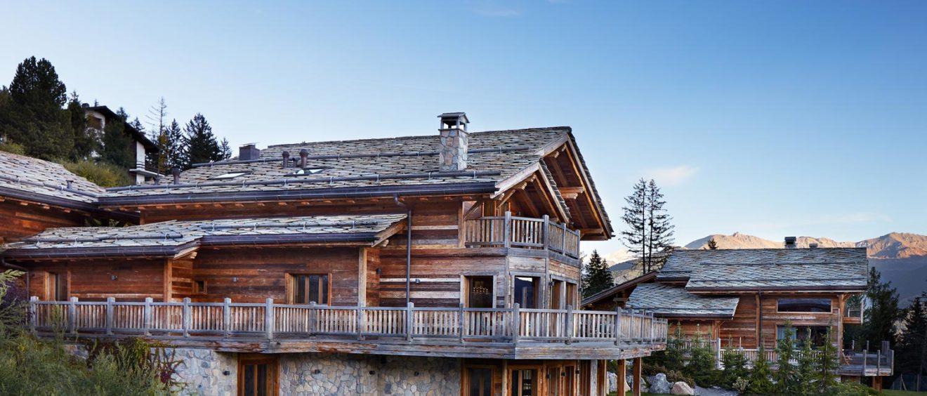 Architekturfotografie - Chalet - Foto by Dominik Berg - exterior real estate images