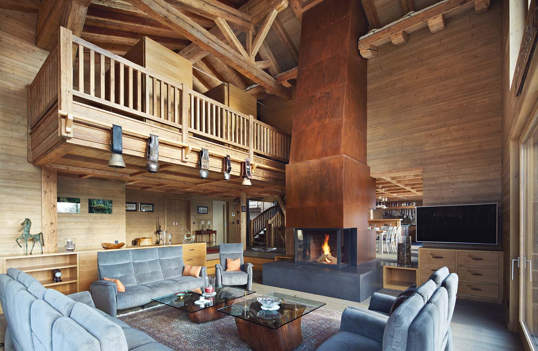 Chalet - Livingroom