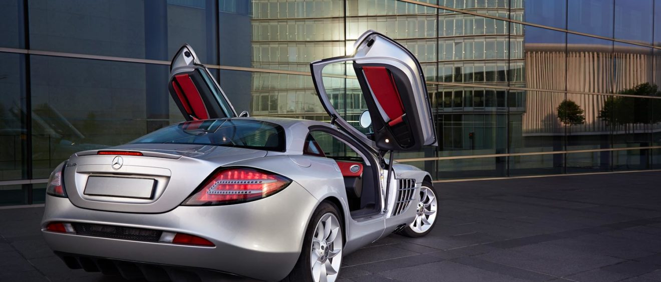 Mercedes SLR - slr forbidden property